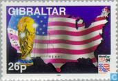 Postage Stamps - Gibraltar - World Cup