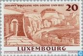 Postage Stamps - Luxembourg - Goethe, Johann Wolfgang von