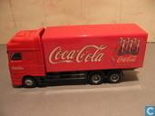 "Voitures miniatures - Edocar - DAF XF ""Coca Cola"""