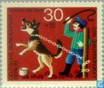 Timbres-poste - Berlin - Protection des animaux