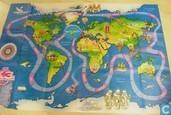 Jeux de société - Met K3 de wereld rond - Met K3 de wereld rond