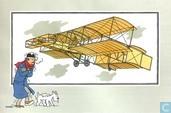 """Strips - Kuifjesbon producten - Chromo's """"Vliegtuigen oorsp. tot 1700"""" 17"""