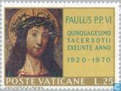 Timbres-poste - Vatican - Pape Paul VI