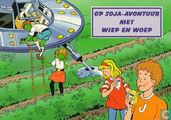Strips - Wiep en Woep - Op soja-avontuur met Wiep en Woep