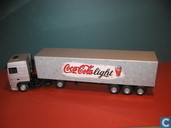 Voitures miniatures - Lion Toys - DAF XF 'Coca-Cola'