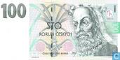 Banknoten  - Ceská Národní Banka - Tschechische Republik 100 Korun