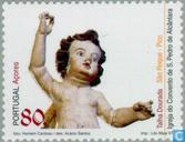 Briefmarken - Azoren - Religiöse Kunst
