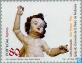 Postage Stamps - Azores - Religious art