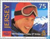 Briefmarken - Jersey - Prince William Birthday-18 Jahre