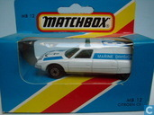 Model cars - Matchbox - Citroën CX 'Police Marine Division'