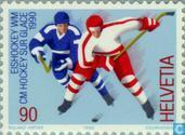 Postage Stamps - Switzerland [CHE] - Ice Hockey World Championships