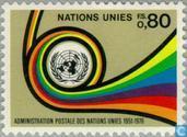 Postzegels - Verenigde Naties - Genève - Postdienst U.N.O.