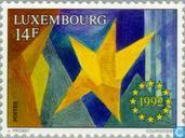 Postage Stamps - Luxembourg - European internal market