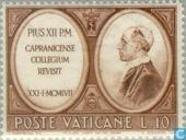 Postage Stamps - Vatican City - Capranica Seminary 500 years