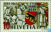 Postage Stamps - Switzerland [CHE] - 750 years Bern