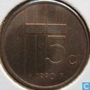 Monnaies - Pays-Bas - Pays-Bas 5 cents 1990