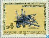 """Timbres-poste - Autriche [AUT] - Exposition """"Fossilien Mineralien und"""""""