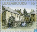 Postage Stamps - Luxembourg - Watermills