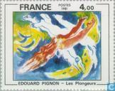 Postzegels - Frankrijk [FRA] - Schilderij Édouard Pignon