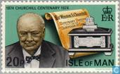Postzegels - Man - Sir Winston Churchill