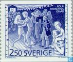 Postage Stamps - Sweden [SWE] - 100 years of Peoples Parks