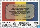 Postage Stamps - Andorra - Spanish - Europe – Historical events