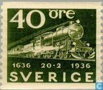 300 years Swedish Post