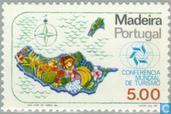 Postzegels - Madeira - Toerismeconferentie