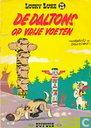 Comic Books - Lucky Luke - De Daltons op vrije voeten