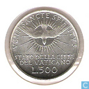 """Coins - Vatican - Vatican 500 lire 1958 """"Sede Vacante"""""""