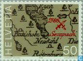 Postage Stamps - Switzerland [CHE] - Battle of Sempach 600 years