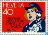 Postage Stamps - Switzerland [CHE] - Salvation Army 100 years