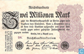 Banknotes - Reichsbanknote - Germany 2 million mark