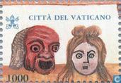 Postzegels - Vaticaanstad - Maskers