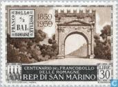 Timbres-poste - Saint-Marin - Rome anniversaire Stamp