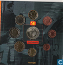 "Coins - Belgium - Belgium mint set 2003 ""50 years of Television"""