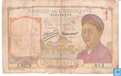 Banknotes - Banque de L´Indochine - French Indo China 1 Piastre