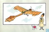 """Chromo's """" Vliegtuigen collectie B reeks 1"""" 3 """"De eendekker 'Antoinette' van Leon Levavasseur (1909)"""""""