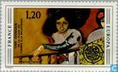 Postage Stamps - France [FRA] - Europe – Paintings