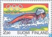 Postzegels - Finland - Olympische Spelen