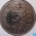 Coins - the Netherlands - Netherlands 2½ gulden 1969 (fish)