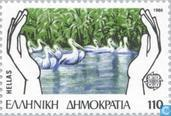 Postage Stamps - Greece - Europe – Nature conservation