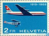 Timbres-poste - Suisse [CHE] - Airmail 50 années