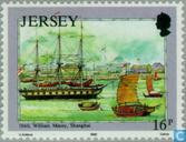 Timbres-poste - Jersey - Mesny, William