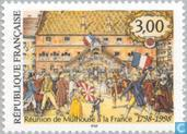 Postage Stamps - France [FRA] - Union of Mulhouse with France