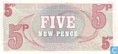 Bankbiljetten - British Armed Forces  6th Series - B A F 5 New Pence