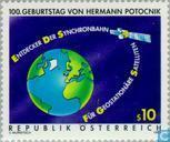 Postzegels - Oostenrijk [AUT] -  Hermann Potocnik,100 jaar