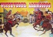 Poster Arendsoog en Witte Veder