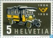 Postage Stamps - Switzerland [CHE] - Auto Post 50 years