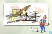 """Comic Books - Kuifjesbon producten - Chromo's """"Vliegtuigen oorsp. tot 1700"""" 36"""